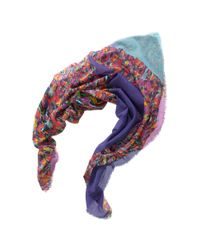 Madewell | Multicolor Color Collage Scarf | Lyst