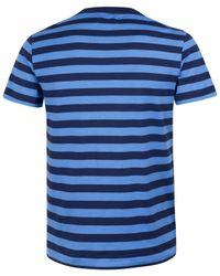 Polo Ralph Lauren | Blue Stripe Pocket T-shirt for Men | Lyst