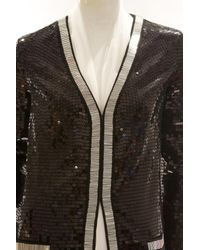 Rachel Zoe - Black Linda Long Sequin Jacket - Lyst