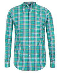 Polo Ralph Lauren | Large Green Check Shirt for Men | Lyst