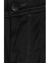 Lot78 Black Anklezip Midrise Skinny Jeans