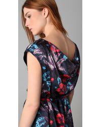 Marc By Marc Jacobs - Blue Havana Floral Dress - Lyst