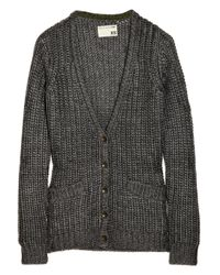 Rag & Bone - Brown The Chunky Knitted Cardigan - Lyst