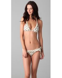 Wildfox | Natural Cow Girl String Bikini | Lyst