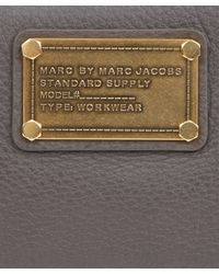 Marc By Marc Jacobs | Brown Classic Q Taupe Zip Wallet | Lyst