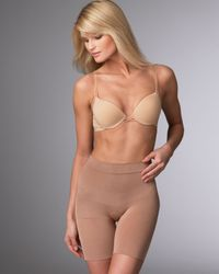 Spanx   Natural Slim Cognito Mid-thigh Shaper   Lyst