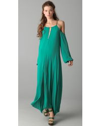 BCBGMAXAZRIA - Green The Ivonka Dress - Lyst