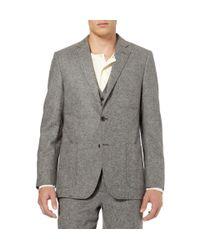 Billy Reid - Gray Tweed Wool Suit Jacket for Men - Lyst