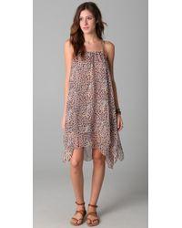 Brette Sandler Swimwear | Brown Nikki Tank Cover Up Dress | Lyst