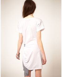Stolen Girlfriends Club | White Draped Tee Dress | Lyst