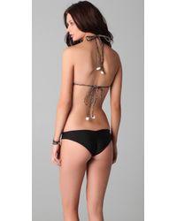 Tori Praver Swimwear - Brown Kalani Bikini Top - Lyst