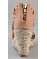 Twelfth Street Cynthia Vincent - Natural Juno Wedge Sandals - Lyst