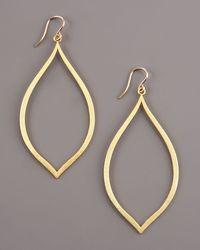Dogeared - Metallic Always Beautiful Hoop Earrings - Lyst