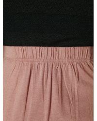 Free People Brown Mad Cool Skirt