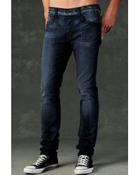 Hudson Jeans | Blue Sartor Slouchy Skinny for Men | Lyst
