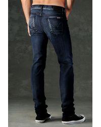 Hudson Jeans Blue Sartor Slouchy Skinny for men