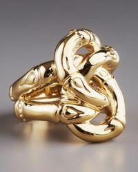 John Hardy - Metallic Bamboo Knot Ring - Lyst