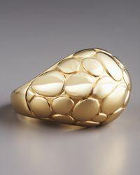 John Hardy - Metallic Kali Gold Dome Ring - Lyst