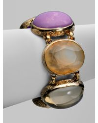 Stephen Dweck | Metallic Semi-Precious Multi-Stone Collector's Bracelet | Lyst