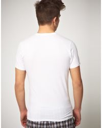 PUMA - White 2 Pack Crew Neck T Shirts for Men - Lyst