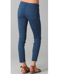 Vince - Blue Skinny Ankle Jeans - Lyst