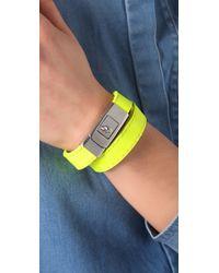 CC SKYE Yellow Portico Bracelet