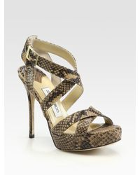 Jimmy Choo | Multicolor 'karmel' Pumps | Lyst