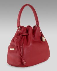 Cole Haan - Red Denney Drawstring Bag - Lyst