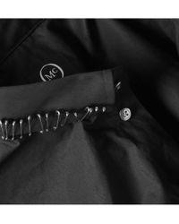 McQ | Black Safety Pin Collar Slim Shirt for Men | Lyst