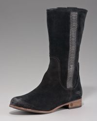 UGG Black Annisa Mid-calf Boot