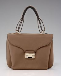 Valentino Brown One-of-a-kind Leather Satchel