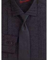 Robert Graham | Black Jacquard Tuxedo Shirt for Men | Lyst
