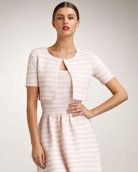 Dior | Pink Flounce Bolero | Lyst