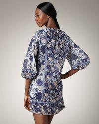 Joie - Blue Alanna Printed Dress - Lyst