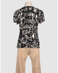 McQ - Gray T-shirt - Lyst