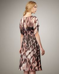 Tracy Reese - Black Abstract-print Flowy Dress - Lyst