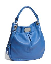 Marc By Marc Jacobs | Blue Classic Q - Hillier Hobo | Lyst