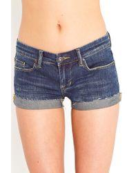 Nasty Gal - Blue Bimbo Cutoff Shorts - Lyst