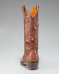 Old Gringo | Brown Dimensional Embroidered Boot | Lyst