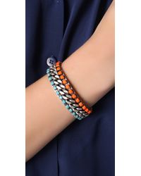 DANNIJO - Orange Rivera Cuff - Lyst