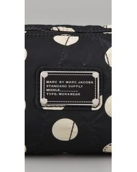 Marc By Marc Jacobs | Black Pretty Nylon Printed Small Cosmetic Case | Lyst