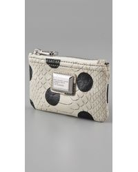 Marc By Marc Jacobs - Gray Dotty Snake Key Pouch - Lyst