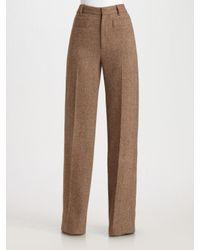 Marc By Marc Jacobs | Natural Roxy Herringbone Pants | Lyst