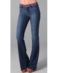 M.i.h Jeans | Blue Marrakesh Kick Flare Jeans | Lyst