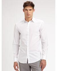 Ralph Lauren Black Label - White Bond Dress Shirt for Men - Lyst