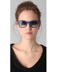 Ray-Ban Blue Wayfarer Sunglasses