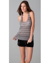 Top Secret | Black Fire and Ice Camisole | Lyst
