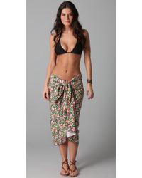 Tori Praver Swimwear - Multicolor Beach Sheet Cover Up - Lyst