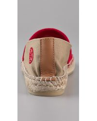 Tory Burch - Natural Two Tone Espadrilles - Lyst
