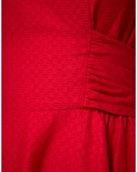 Boutique by Jaeger | Red Bow Back Prom Dress | Lyst